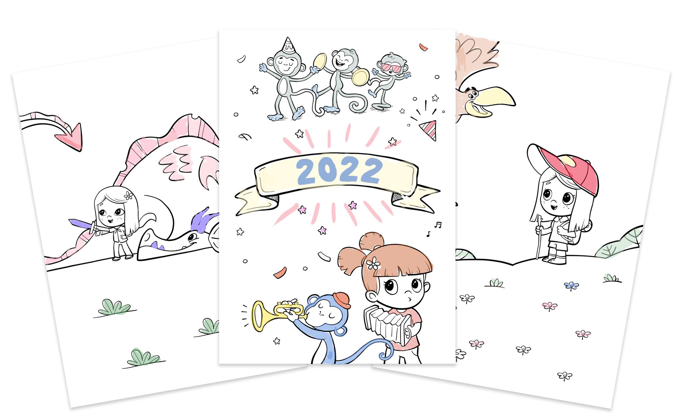 Calendrier Personnalise A Imprimer.Hourra Heros Livres Personnalises Pour Enfants